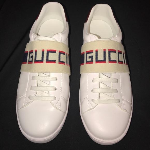 08c9e04b129 Gucci Other - Gucci Elastic Stripe Sneaker